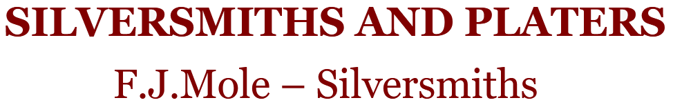 SILVERSMITHS AND PLATERS